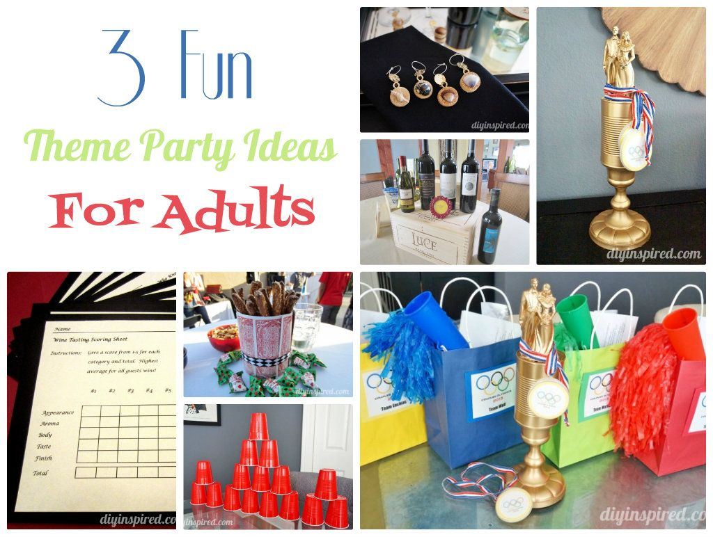 Fun Theme Party Ideas For Adults  Crafty 2 The Corediy -8061