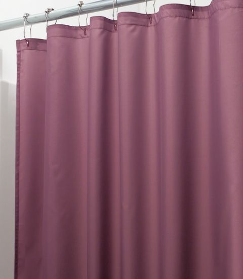Wine Shower Curtain Liner Burgundy Colored 17 95 Fabric