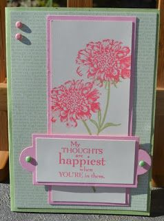 Christie's Creative Corner: Field Flowers Mothers Day Card  Stampin' Up!