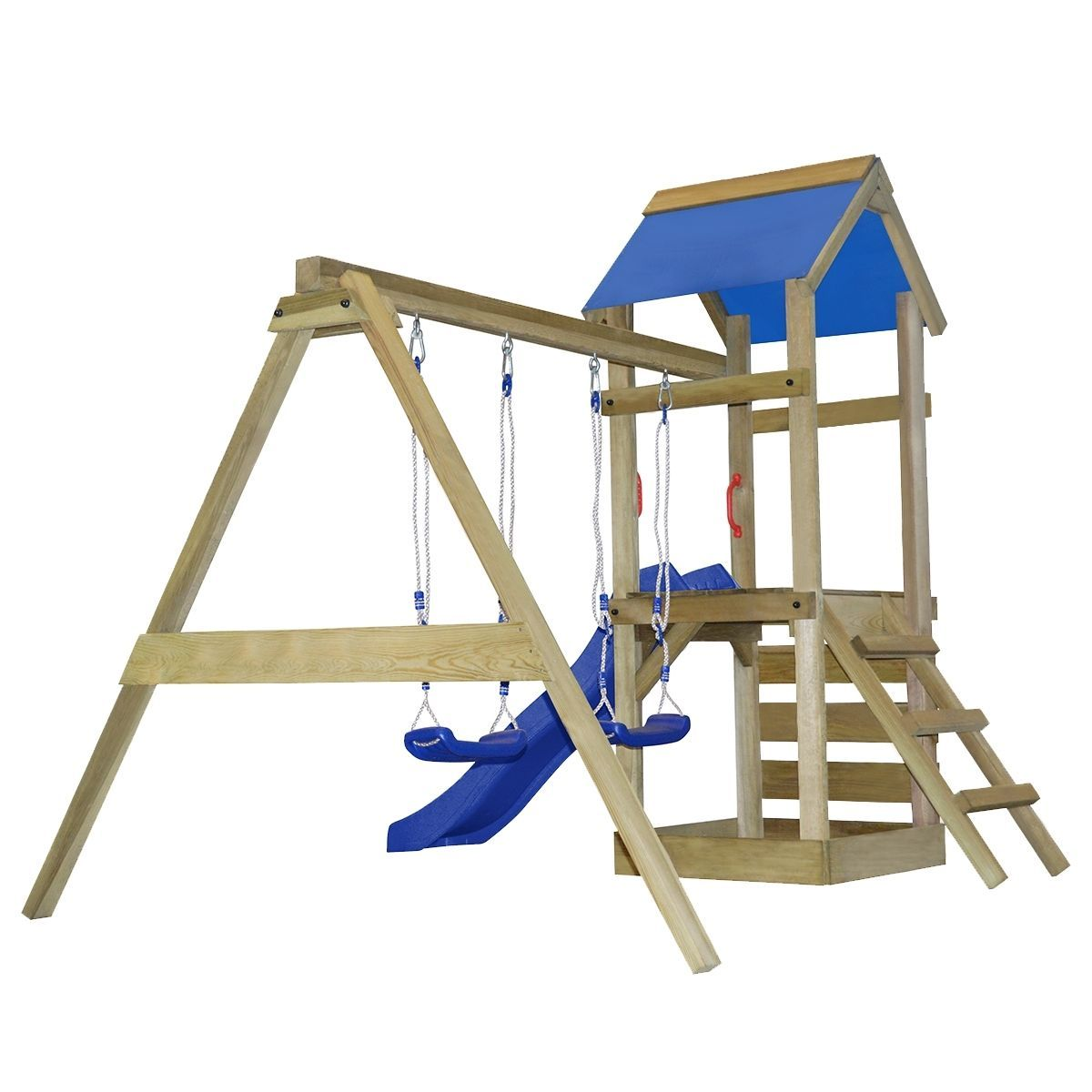 swing / slide set diy build inspiration | Outdoor toys & Summer Fun ...
