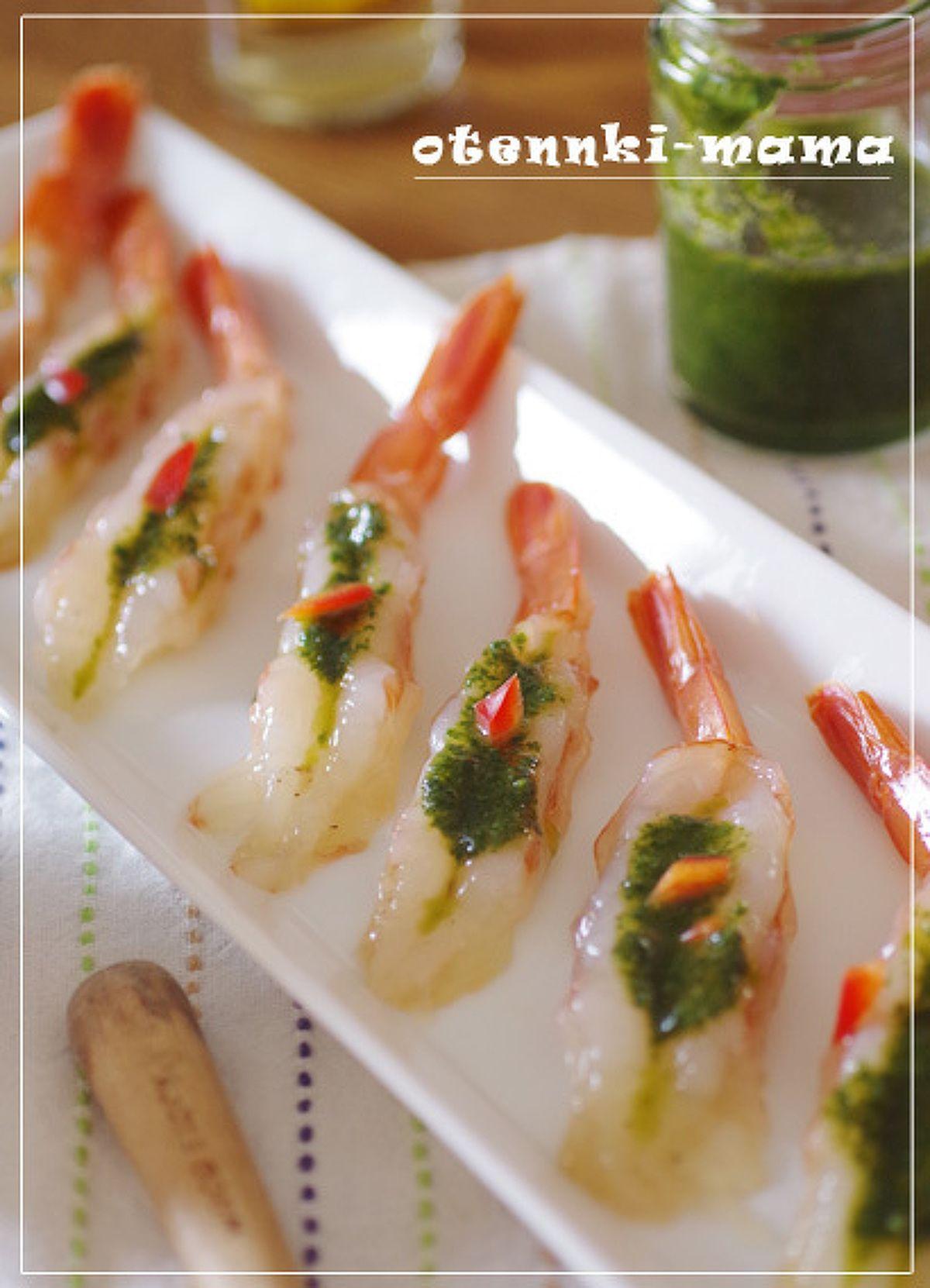 天使の海老の大葉ソテー by お天気ママ   レシピサイト「Nadia   ナディア」プロの料理を無料で検索