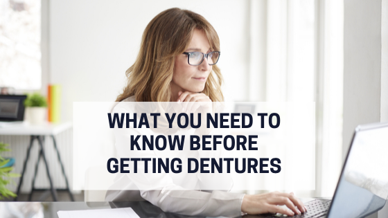 What You Need to Know Before Getting Dentures #dentalfacts