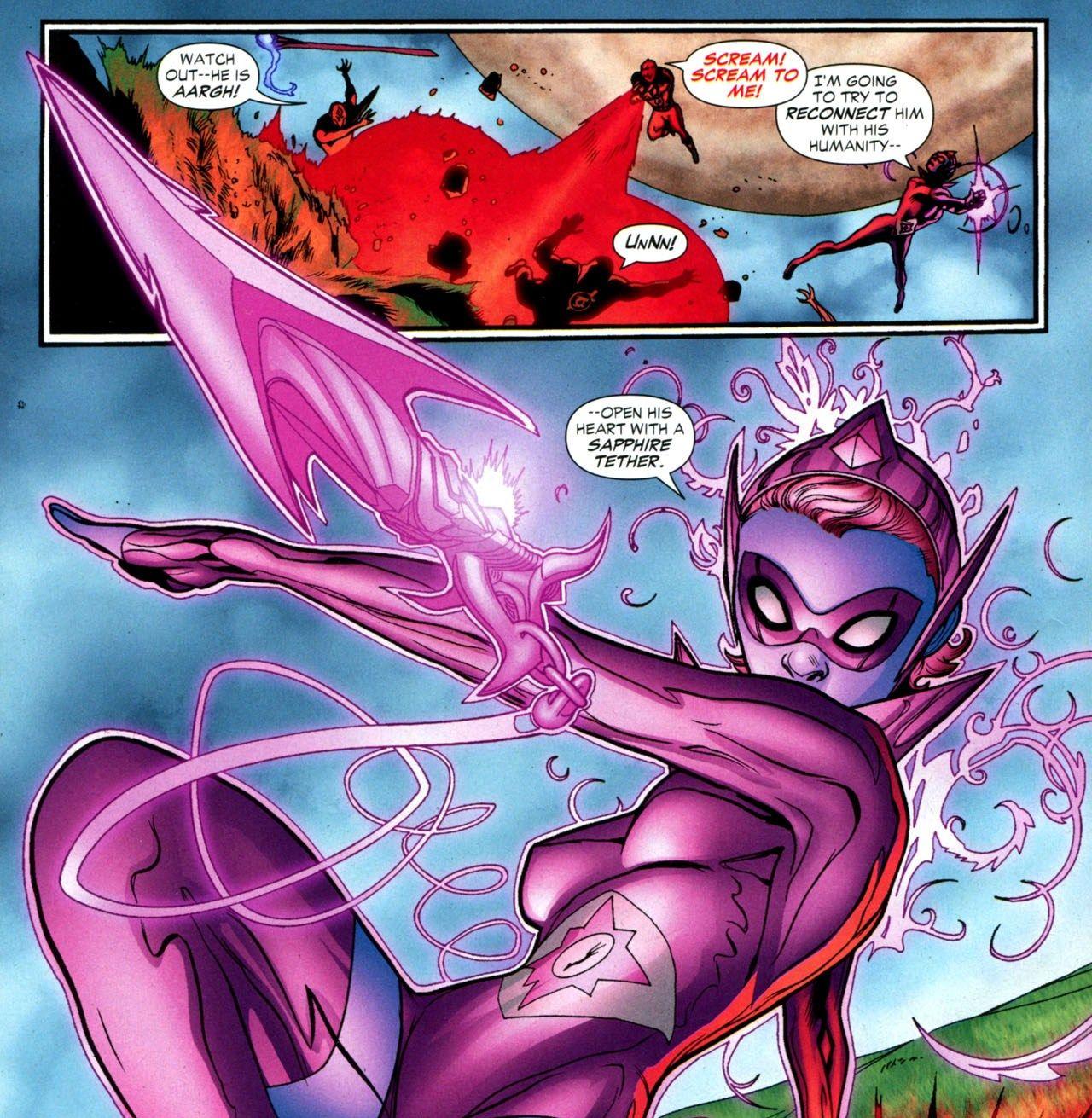 Ss Miri Riam Dc Star Sapphires Pinterest Ss And Comic