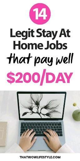 14 Legit Ways To Make Money Working From Home
