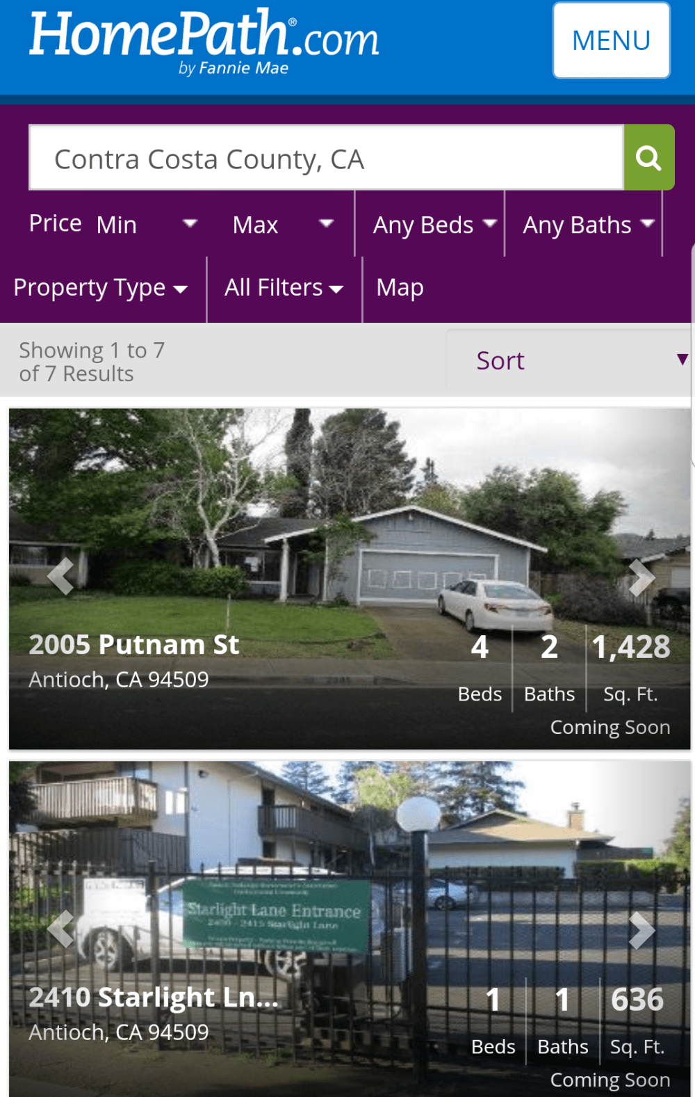 Buy Auction Homes From All Government Agencies Waldorf Realty Com Contra Costa County Fannie Mae Real Estate