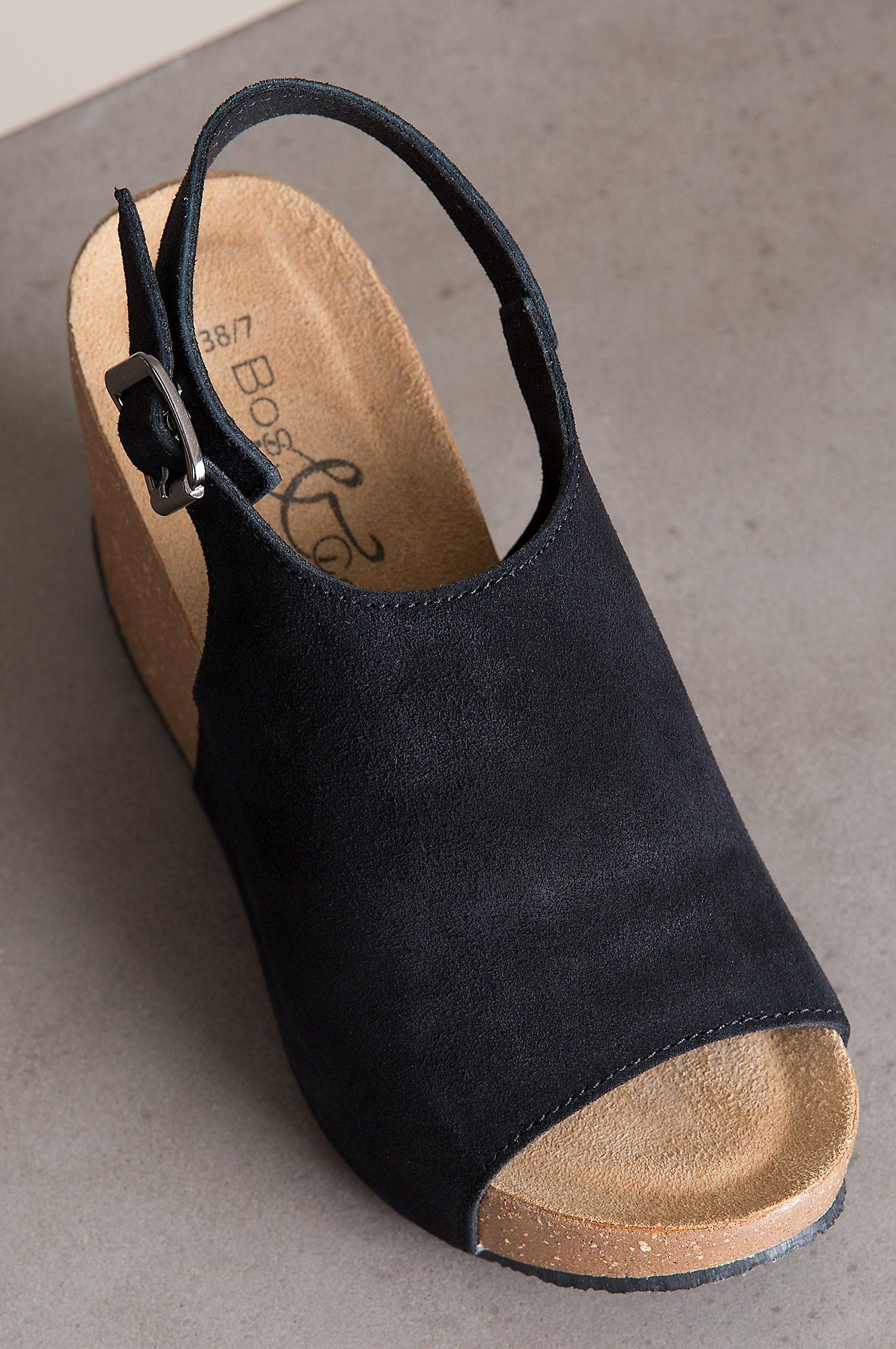 625a95a0571e Womens Sheila Wedge Sandal Black Crosta Pesante 37 M EU 66.5 US    Details  can be found by clicking on the image. (This is an affiliate link)   womenssandals