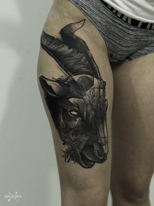 #tattoo#tattoos#goat