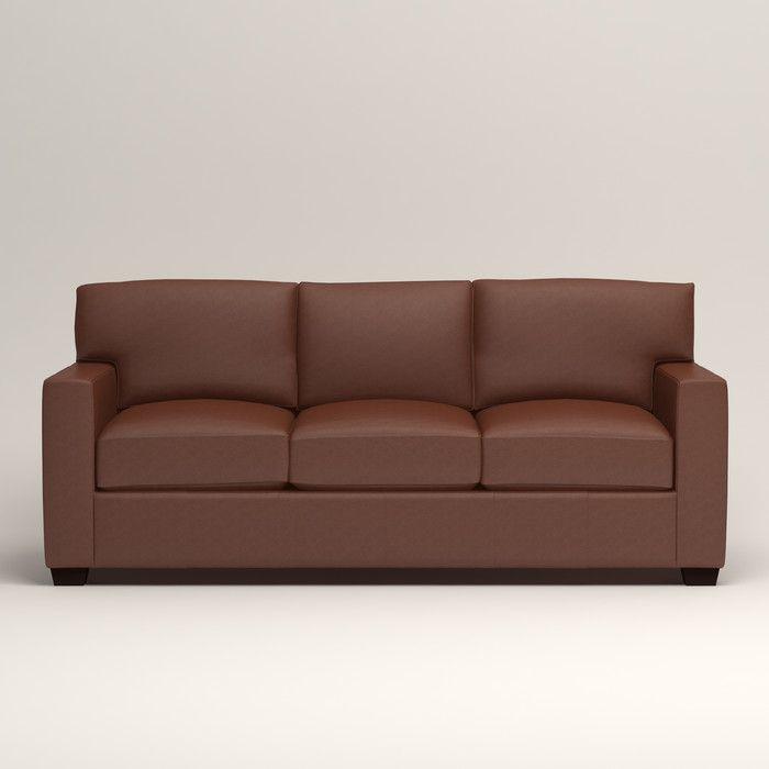 Birch Lane Pratt Leather Sofa U0026 Reviews | Birch Lane