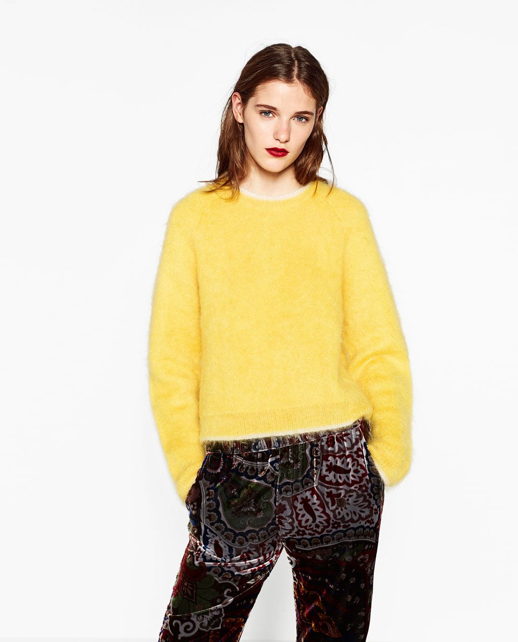 LIMITED EDITION MOHAIR SWEATER-Sweaters-KNITWEAR-WOMAN | ZARA ...