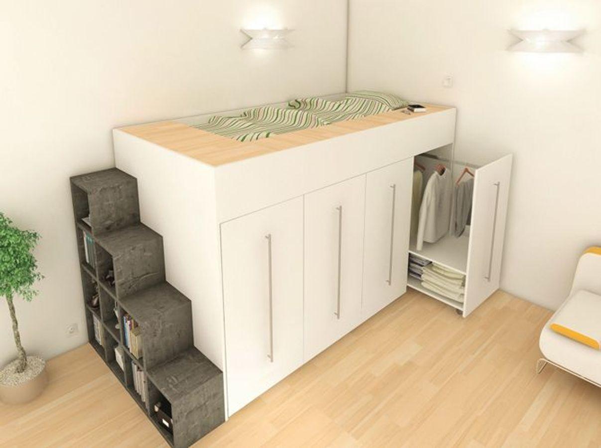 Meuble Gain De Place Archea Chambre Violette Pinterest Bedroom