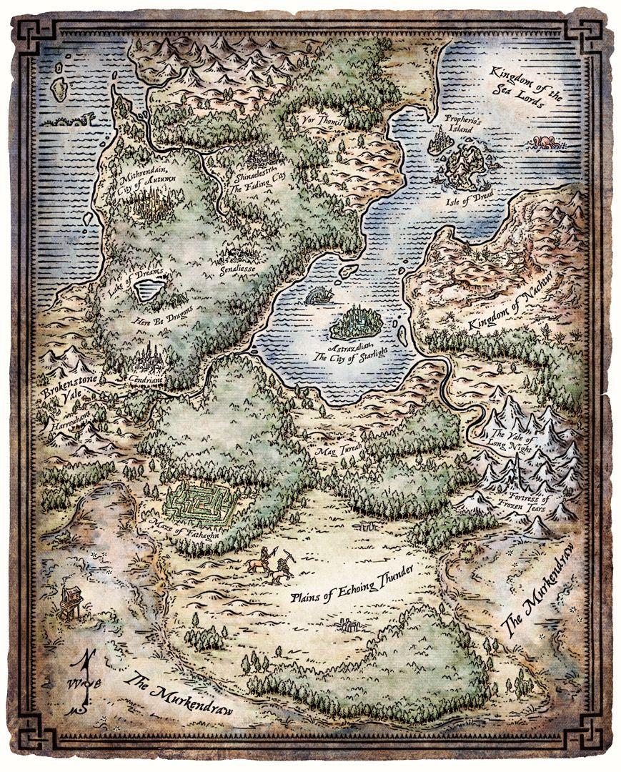 Feywild Map : feywild, Feywild, Fantasy, World, Cartography