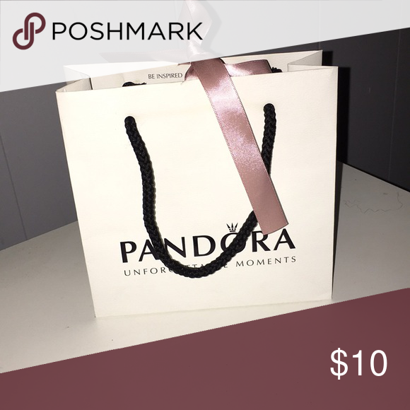 11bfcfe263 Pandora gift bag Empty . Small pandora gift bag . Pandora Other | My ...