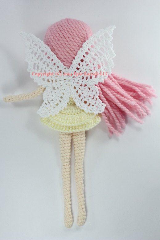 PATTERN: Althaena the Summer Fairy Crochet Amigurumi Doll ...