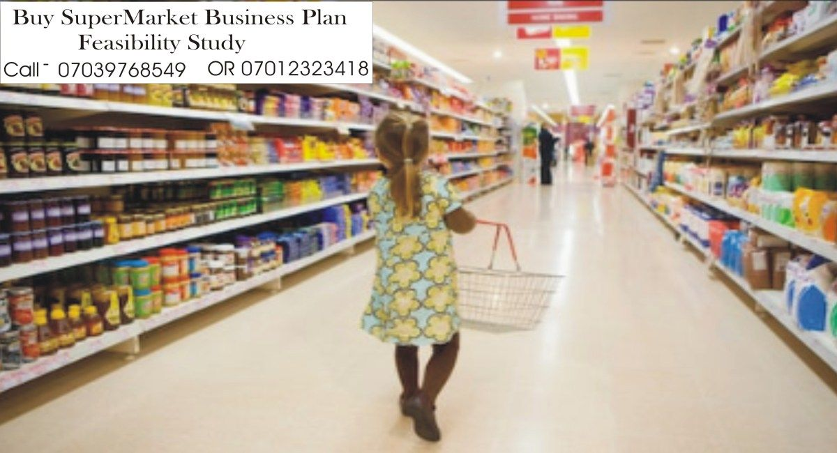 Supermarket Business Plan In Nigeria PDF Salon