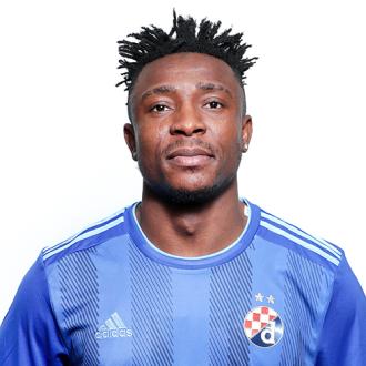 Iyayi Atiemwen Gnk Dinamo Zagreb Zagreb Red Card