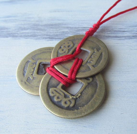 i Ching coins are the Feng Shui symbol of wealth and luck.