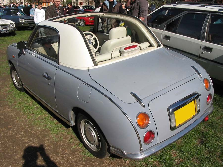 another Nissan Figaro - so much style