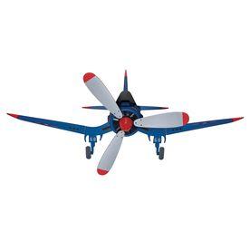 48 In Fantasy Flyer Blue Kids Ceiling Fan Airplane