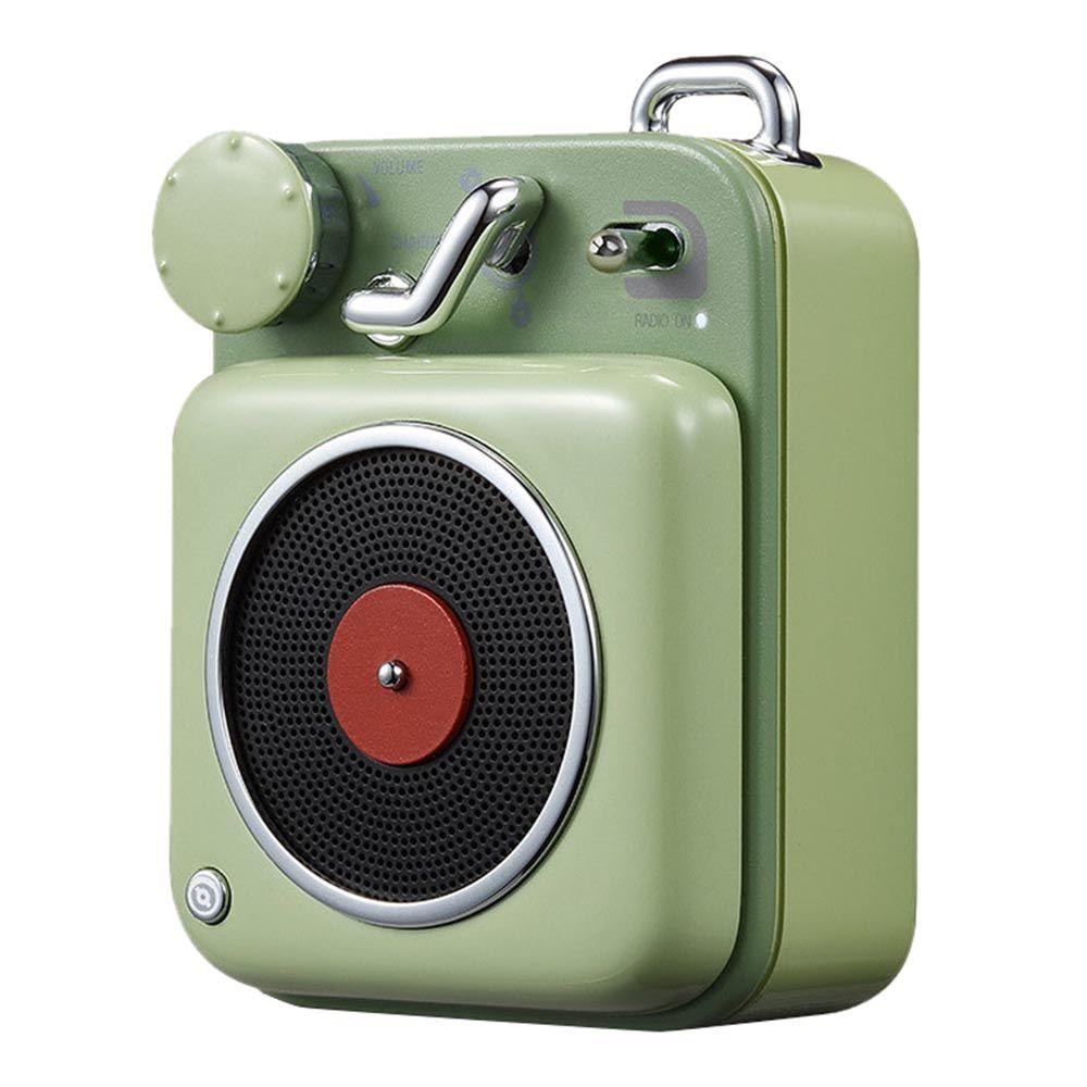 Xiaomi Elvis Presley Atomic Cat King Player B612 Retro Compact Bluetooth Smart Audio Portable Speaker Green Retro Radios Retro Speakers Portable Speaker