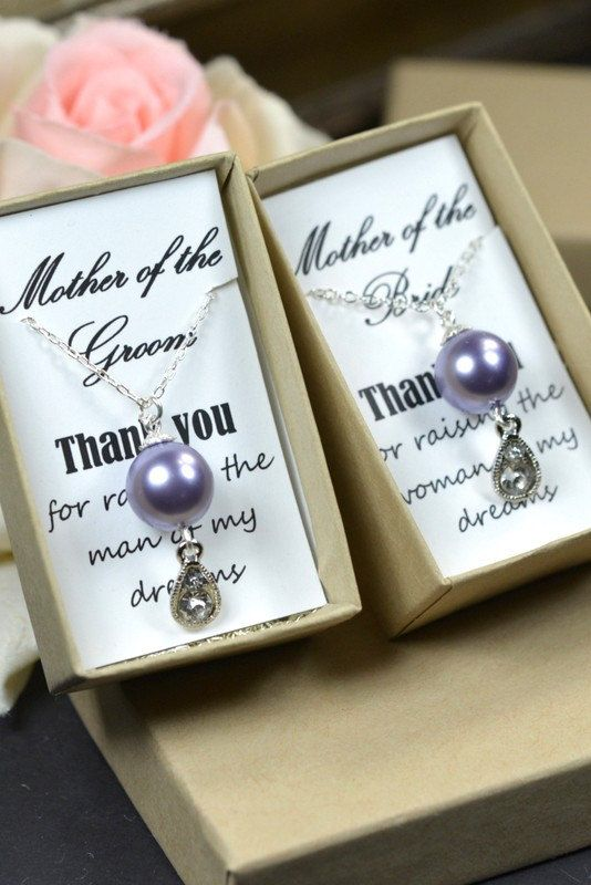 2 sets mother of the bride and mother of the groom presents by