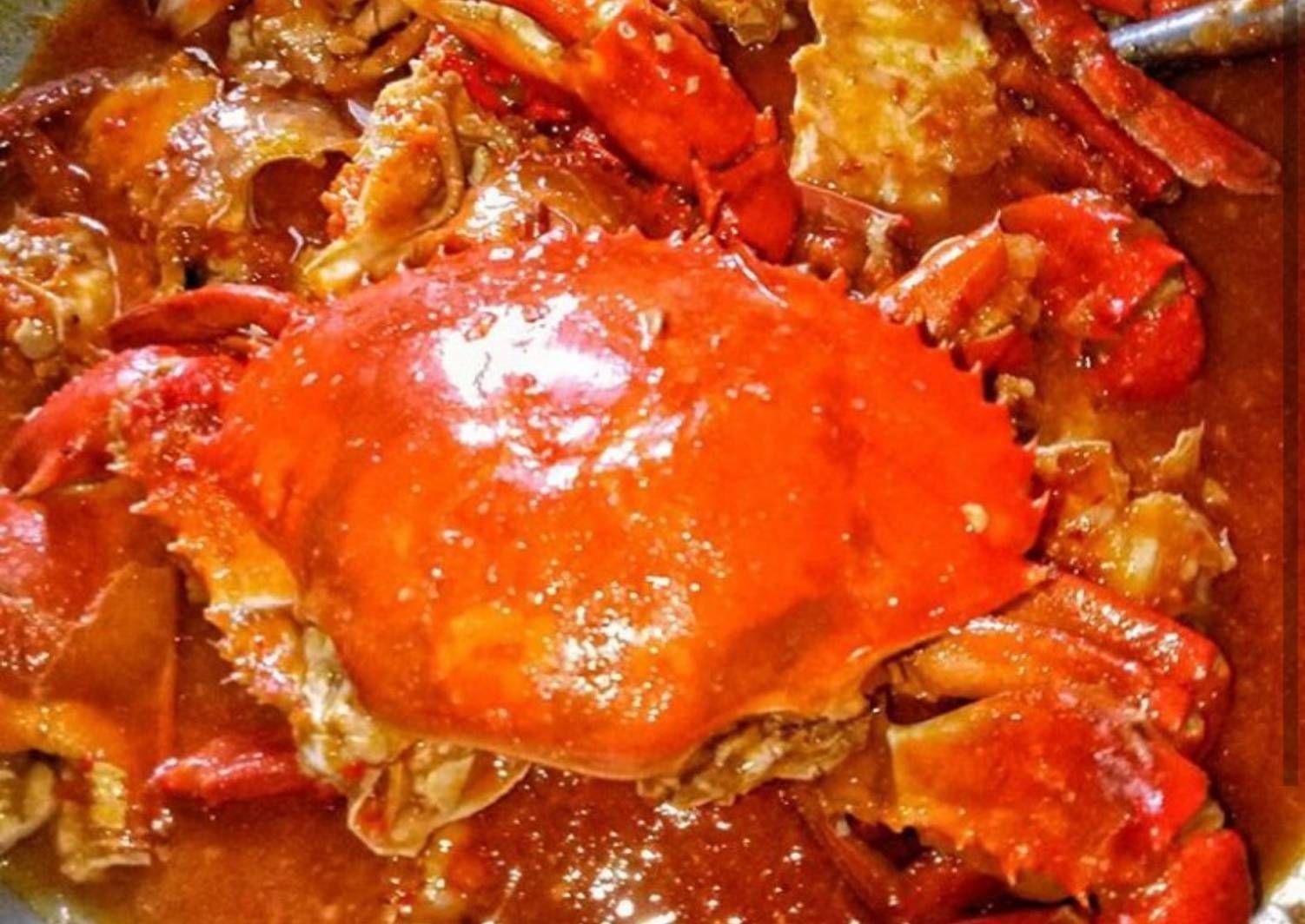 Resep Kepiting Pedas Saos Padang Oleh Harani Fd Resep Resep Kepiting Kepiting Resep Makanan Asia