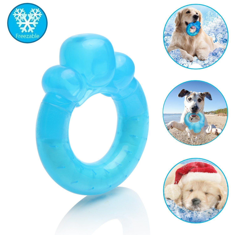Shangjingmeixie Dog Chew Toy Rubber Cooling Teething Training