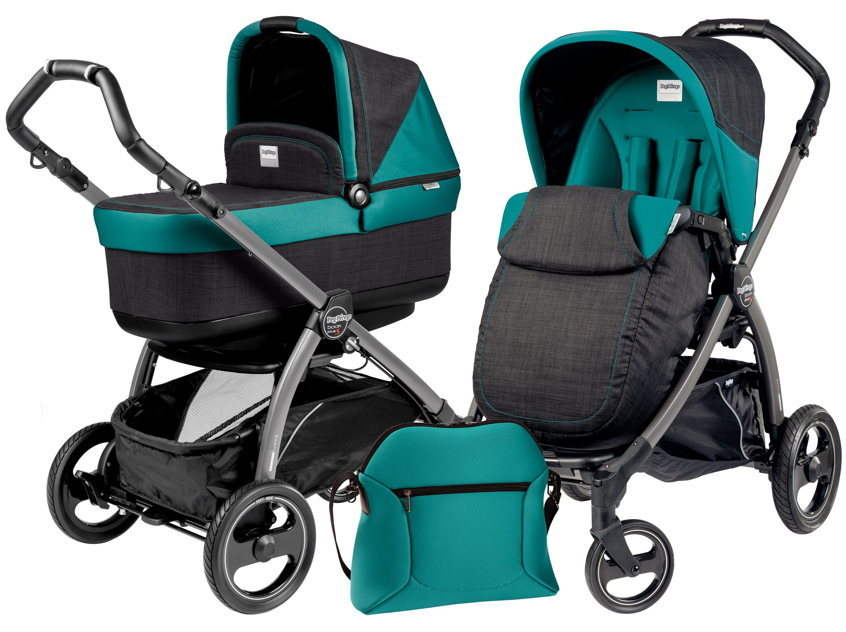 Peg Perego Book Plus Pop up Aquamarine
