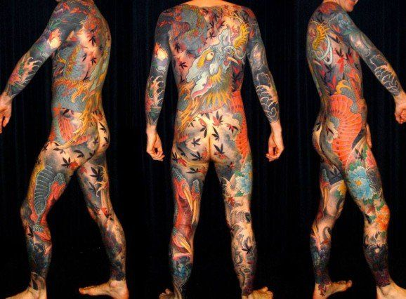 The Japanese traditional tattoo and its irezumis is indeed one of the best inspiration for full bodysuits. Here an outstanding example by master Filip Leu.