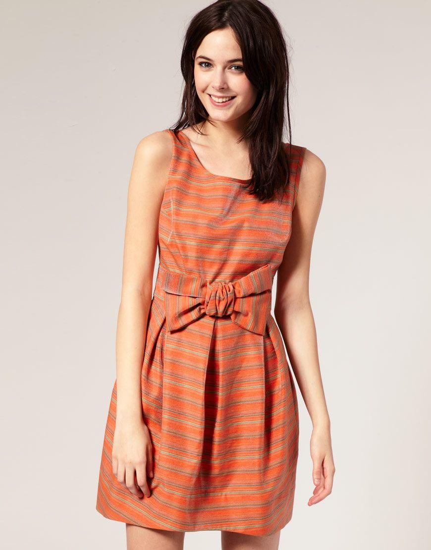 I love the shape cute dresses pinterest striped prom dresses