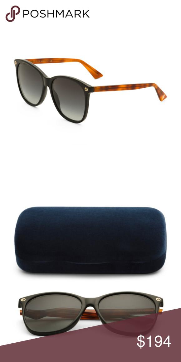 e965a36faeb Gucci Black Bee Logo Square Sunglasses Gucci Black and Tortoise Bee Logo  Square Sunglasses. Brand new with case and duster bag. Gucci Accessories  Sunglasses