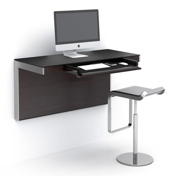 A Versatile Office Solution The Sequel Wall Mounted Floating Desk Can Be Positioned At Any Height Seate Wall Mounted Desk Floating Desk Buy Office Furniture