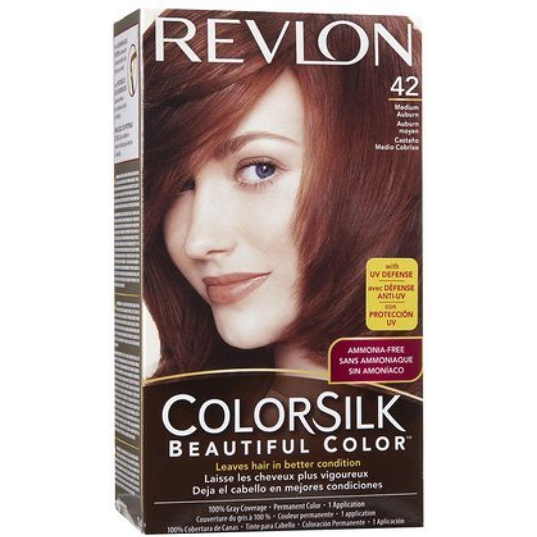 Colorsilk Permanent Hair Color Medium Auburn R Quantity of