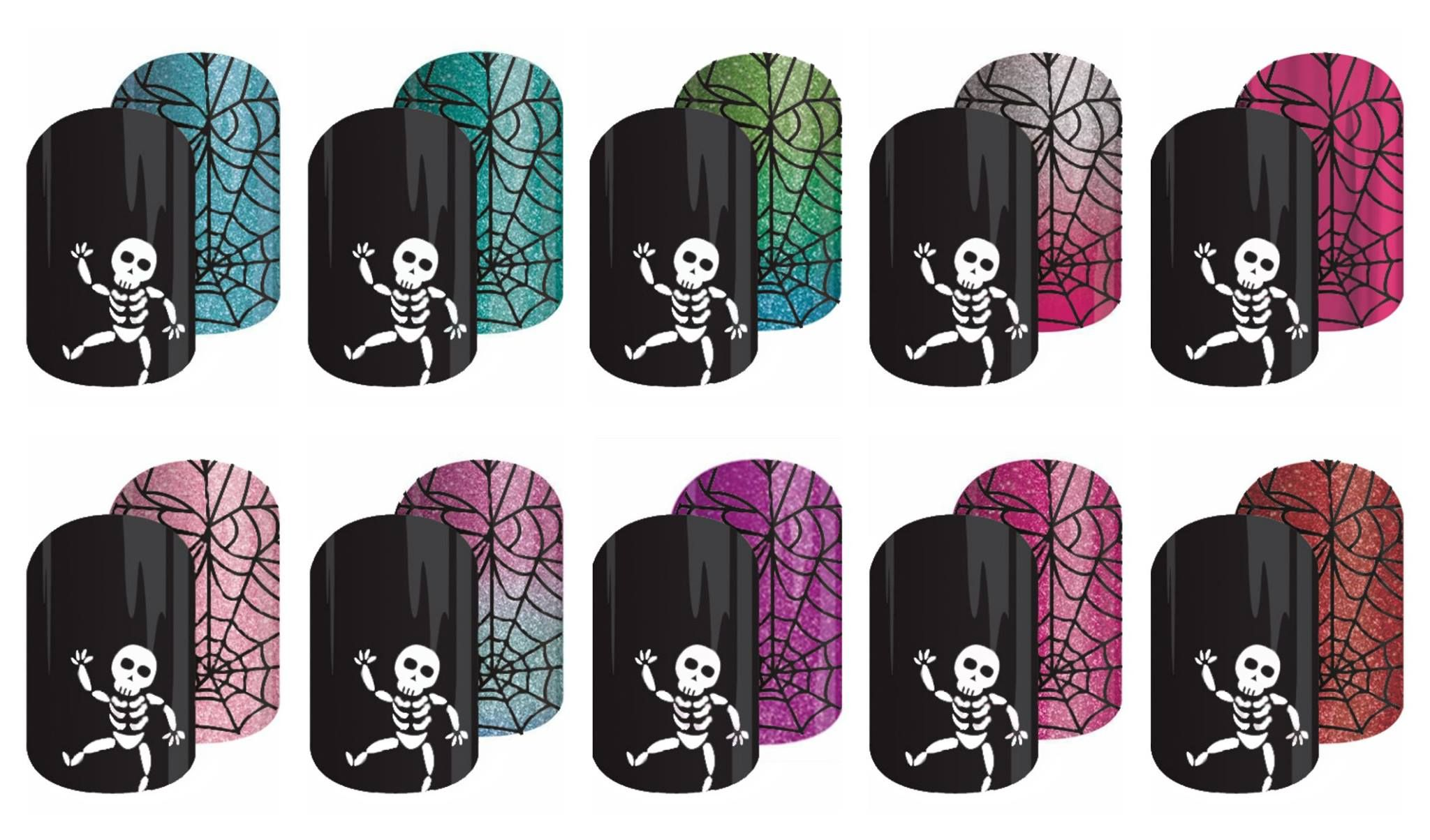 The possibilities are endless with this Halloween wrap from Jamberry.