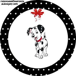 Making My Party Dalmatians Mini Kit with frames for invitations