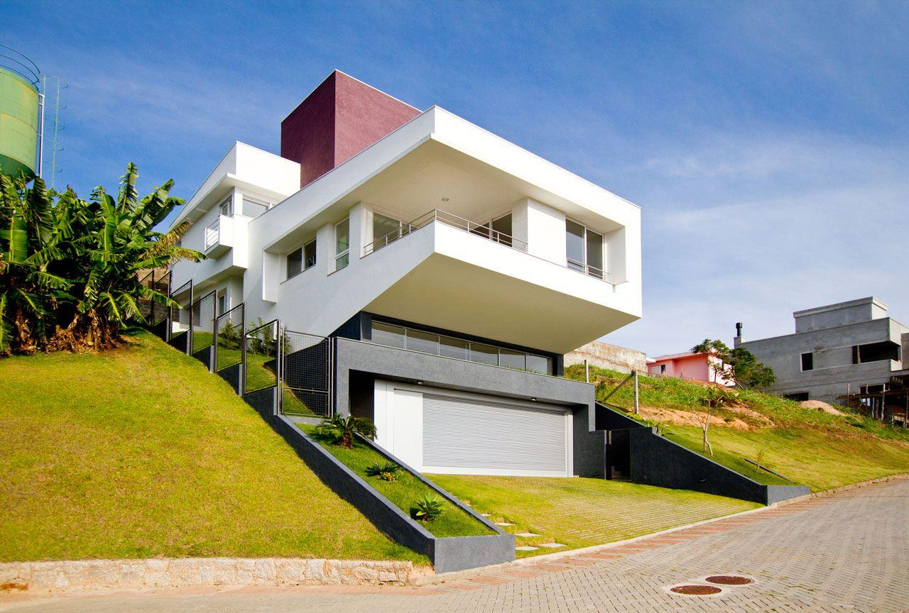 Awesome Resultado De Imagen Para Maison Sur Terrain Pentu | Arq | Pinterest | House,  Architecture And Mountain Houses