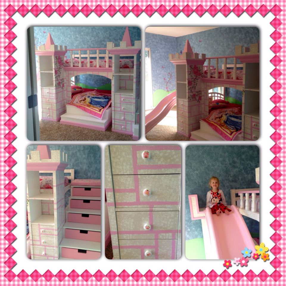 Best After Seeing The Prices Of A Pre Made Princess Castle Bed We Decided To Make Our Own 1 Buy Bunk 400 x 300
