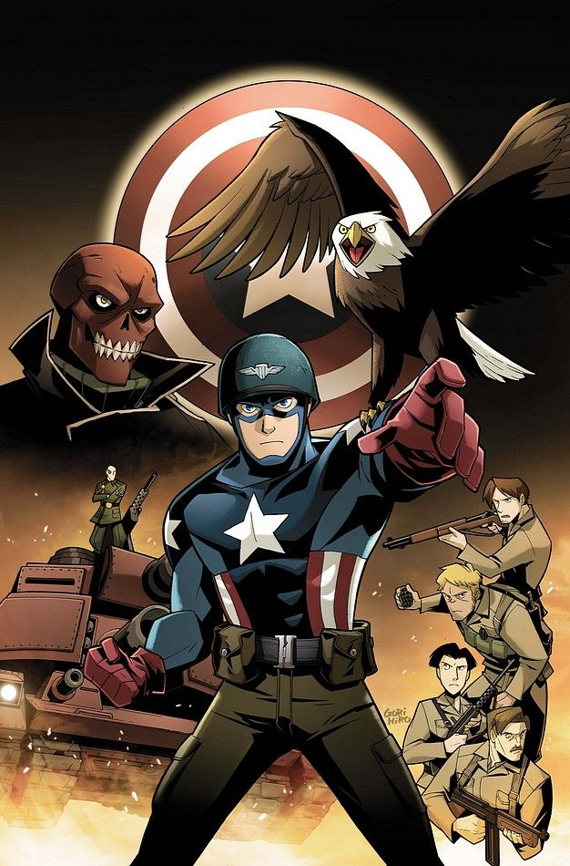 #Captien #America #Comic #Art.