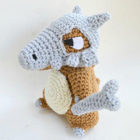 Cubone plush Pokemon doll amigurumi crochet | Patrón de ganchillo ...