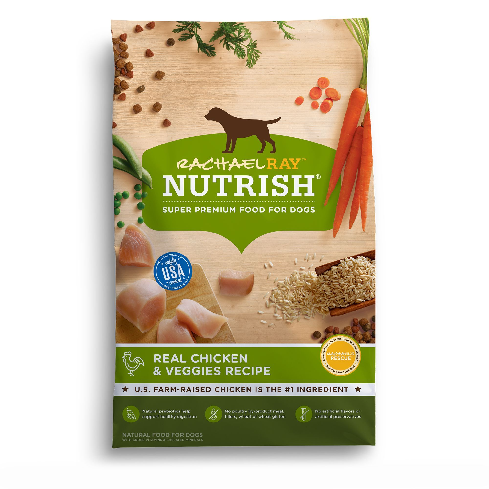 Rachael Ray Nutrish Dog Food Natural Chicken And Veggies