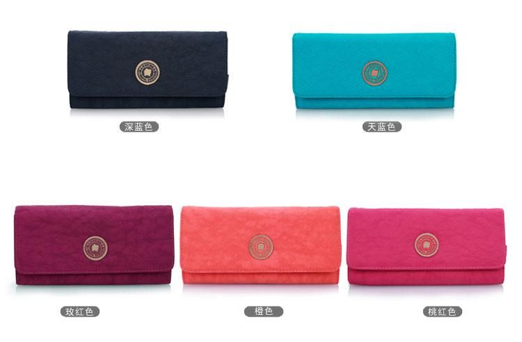 Long Classic Nylon Convenient Outdoor Wallets for Girls Which color do you like?