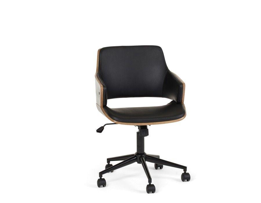 Fauteuil design noir fauteuil bureau design cuir noir u vinewall