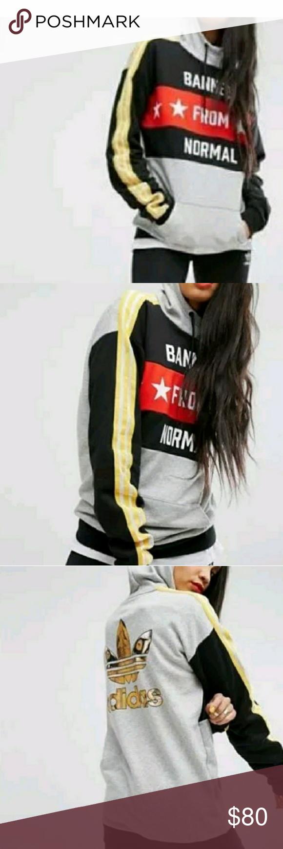 5d7ea49981 Adidas Banned From Normal Sweatshirt Rita Ora