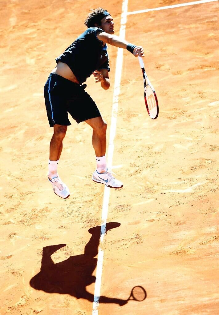 Flying Roger! Stunning pic ... Visit www.sistem21-bet.com for free sports betting tips and earn guaranteed profit.