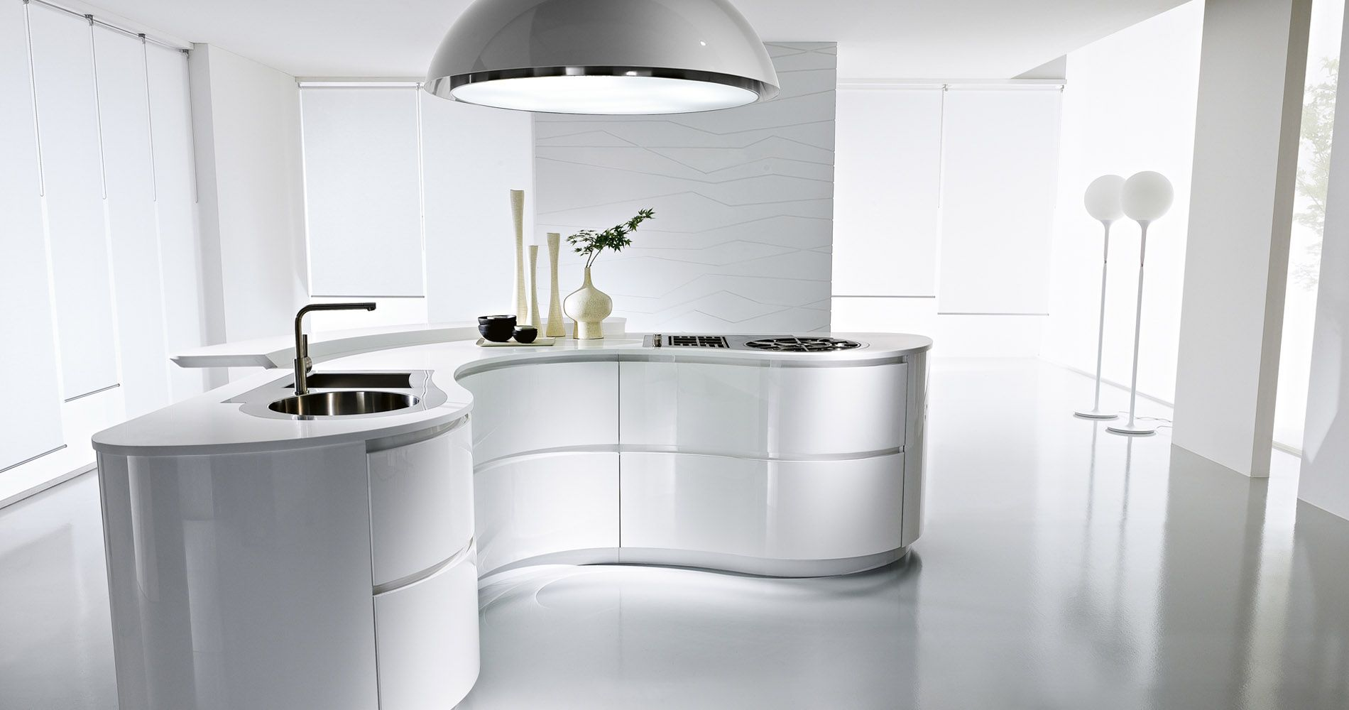 Pedini Kitchen Design Italian German European Modern Kitchens Contemporary Kitchen Cabin Curved Kitchen Contemporary Kitchen Design Italian Kitchen Design