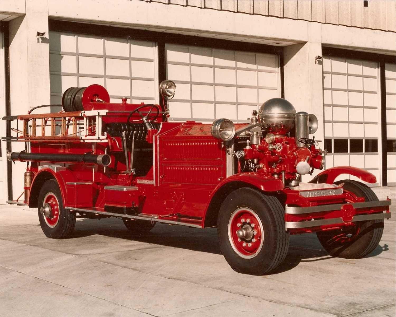 Tucson, AZ FD 1928 AhrensFox Model MS3 750 GPM Pumper