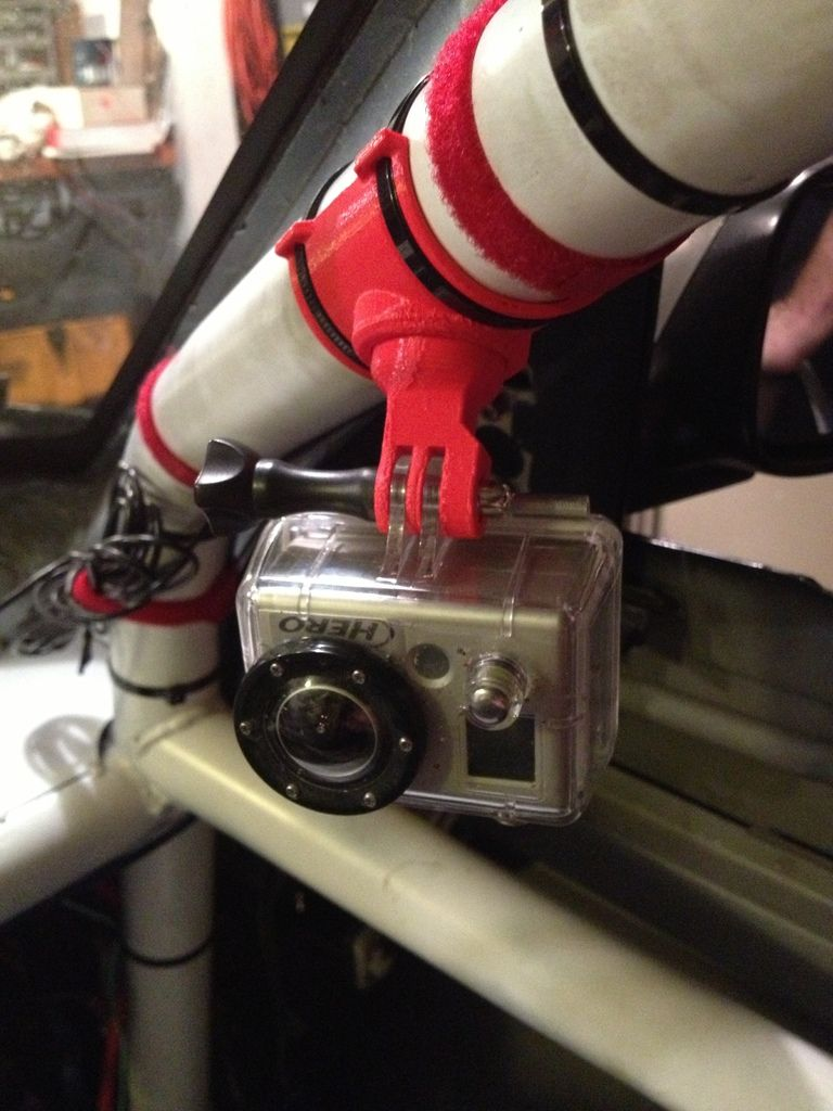 Roll Cage Swivel Mount for GoPro by FluidDoc    Race car