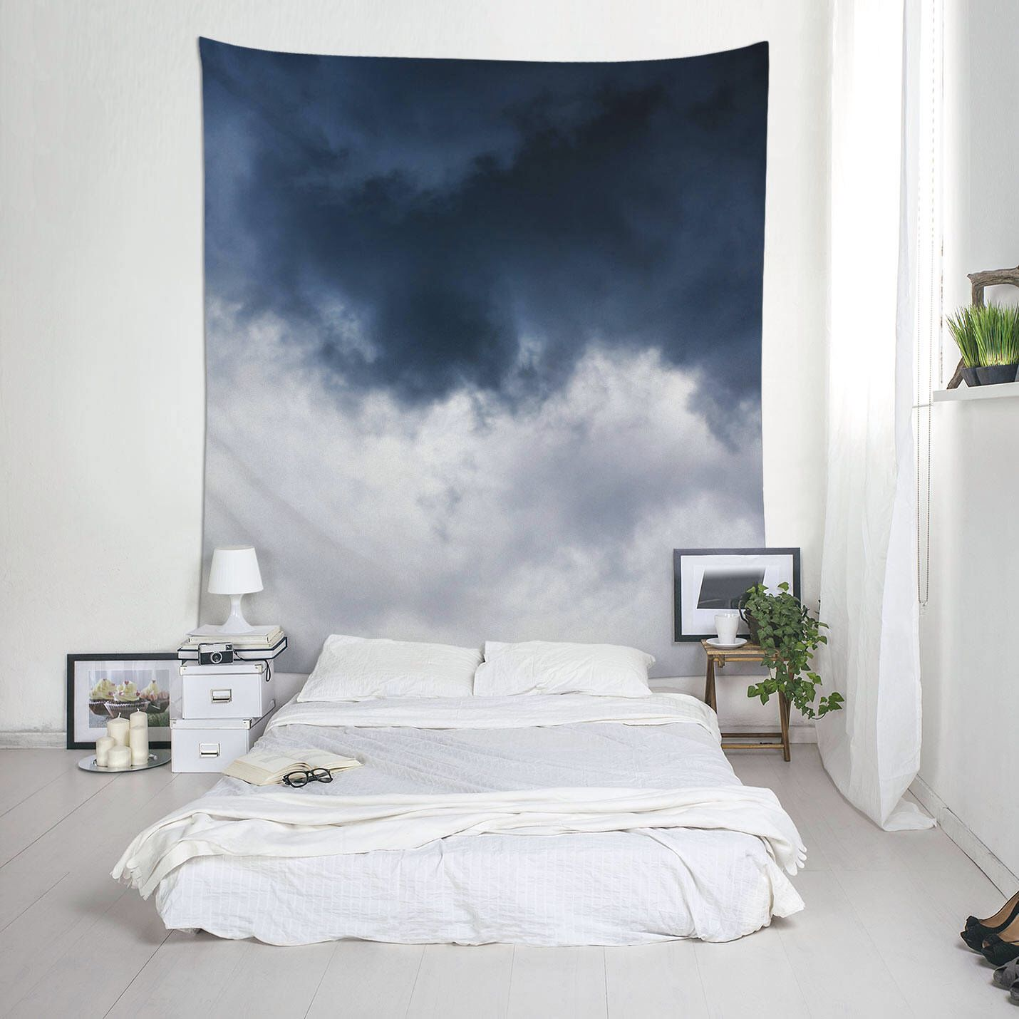 Cool Tapestries Cloud Tapestry Large Wall Hangings For Room Decor Or Photo Backdrop Ul112 Cool Room Designs Cool Tapestries Photo Wall Art