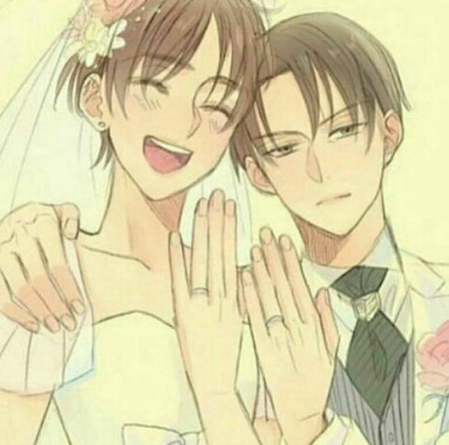 Levi x eren | wedding | Attack on Titan | Ereri, Attack on titan