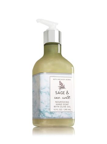 Sage Sea Salt Hand Soap With Olive Oil Bath And Body Works