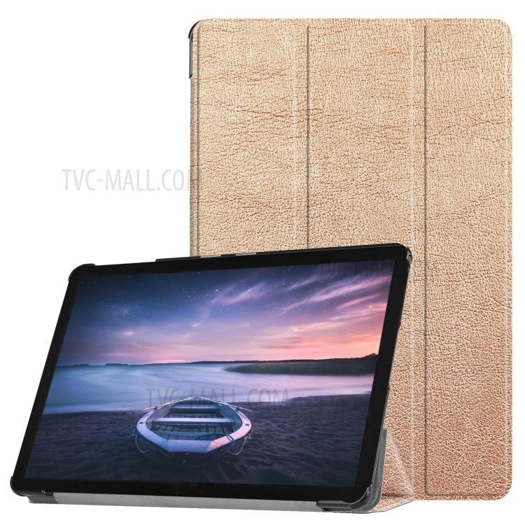 Tri Fold Stand Pu Leather Wake Sleep Case Accessory For Samsung Galaxy Tab S4 10 5 T830 T835 Rose Gold Phones Samsung Tablet Samsung Samsung Hulle Android